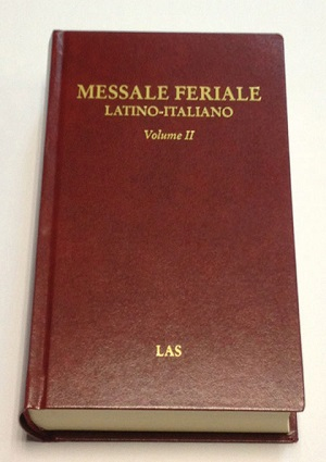 Messale feriale latino-italiano