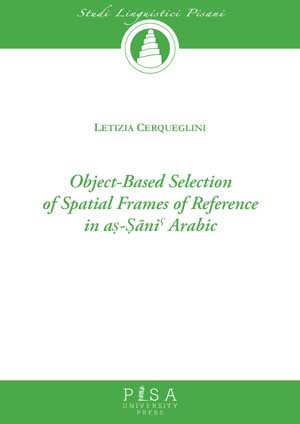 Object-Based Selection of Spatial Frames of Reference in aş-Şāni Arabic