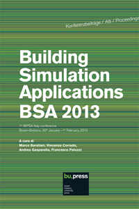 Building Simulation Applications BSA 2013
