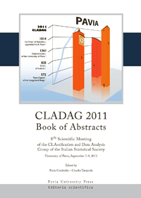 CLADAG 2011. CLAssification and Data Analysis Group of the Italian Statistical Society
